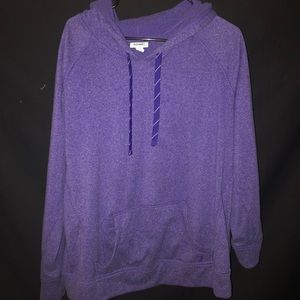 Purple Workout Hoodie